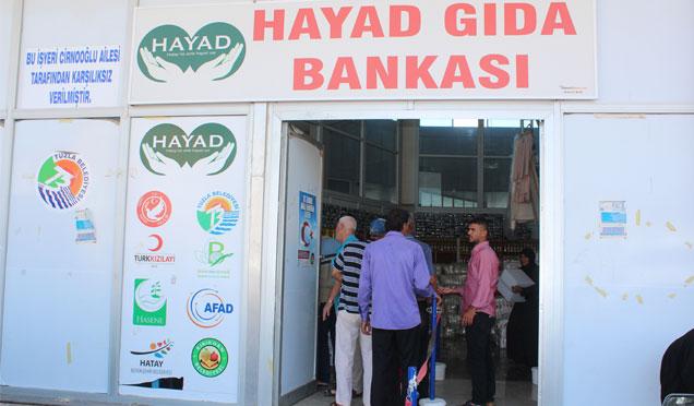 HAYAD Gıda Bankası Ankara'da anlatıldı