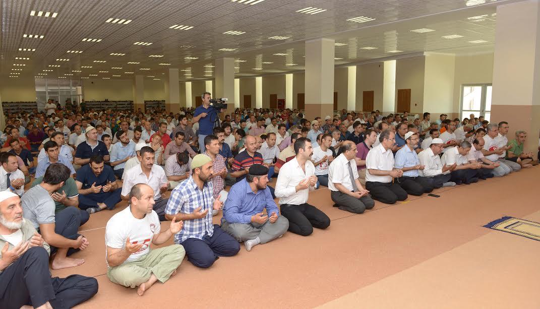 MKÜ'de 15 Temmuz Şehitlerine dua edildi