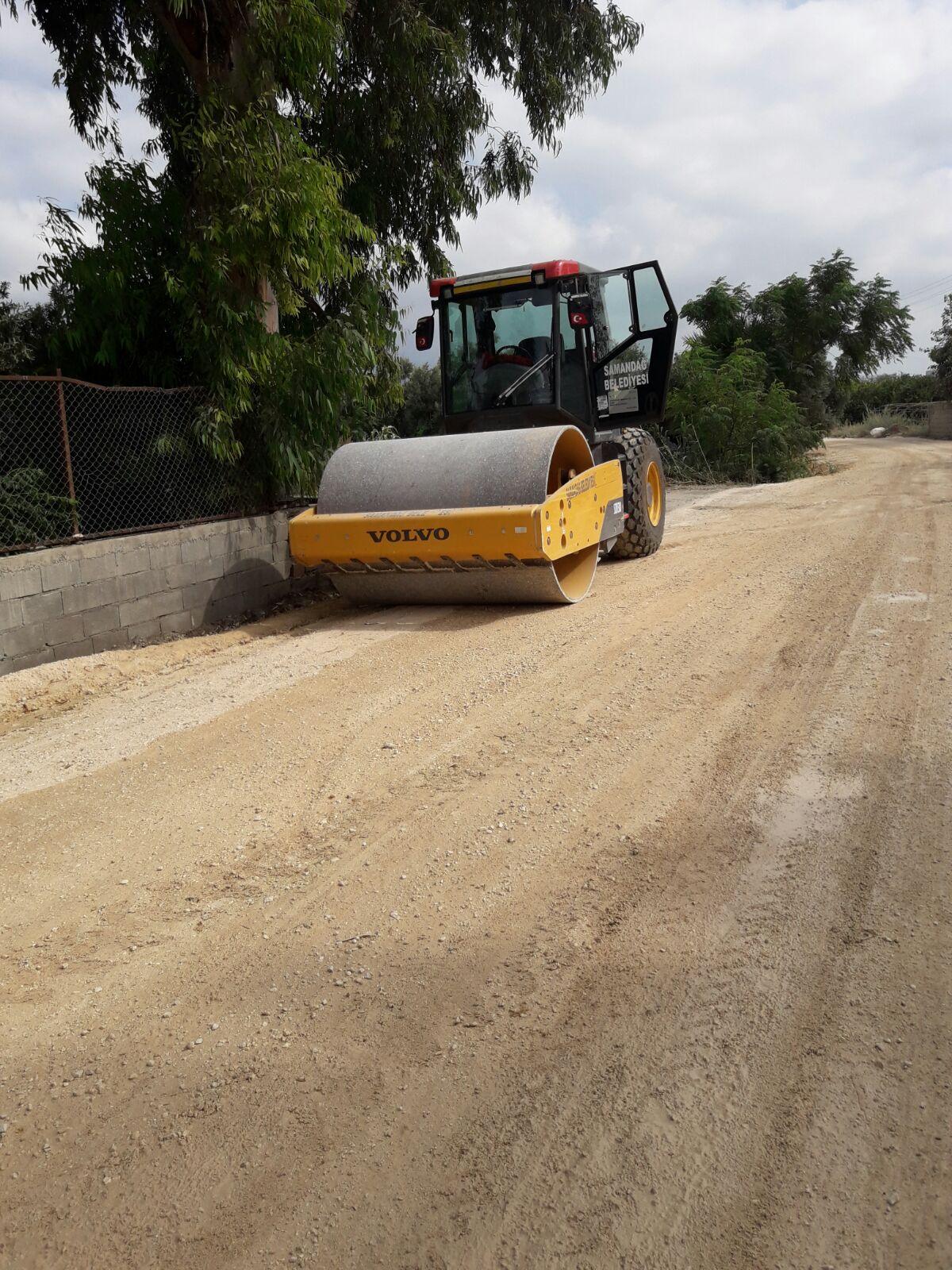 Samandağ Belediyesi'nden 11 Mahallede eş zamanlı çalışma