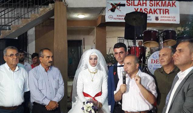 Düğünlerde silah sıkılmasın