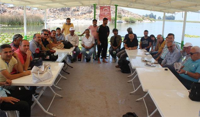 Hatay Gazeteciler Cemiyeti'nden üyelerine etkinlik