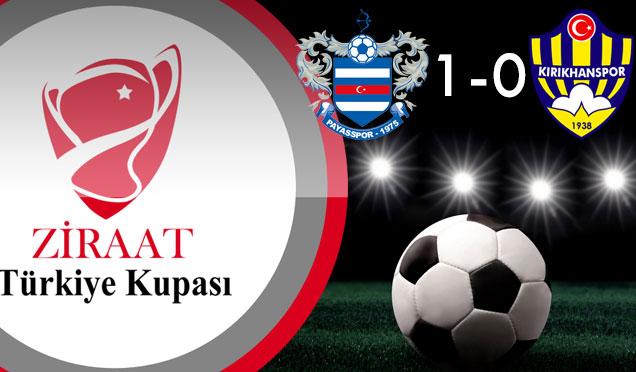Payasspor 1-0 Kırıkhanspor