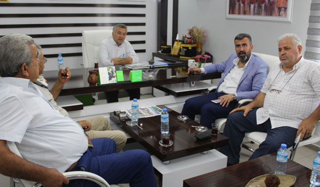 Payas Belediye Başkanı Bekir Altan Medya gurubumuzu ziyaret etti