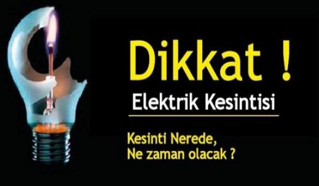 Hatay'da elektrik kesintileri