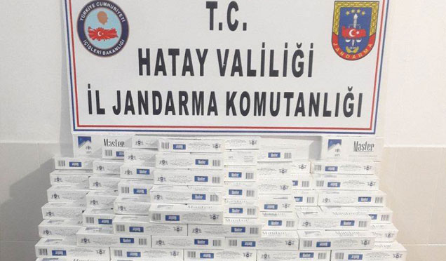 Yayladağı sınırında 18 Bin paket kaçak sigara ele geçirildi