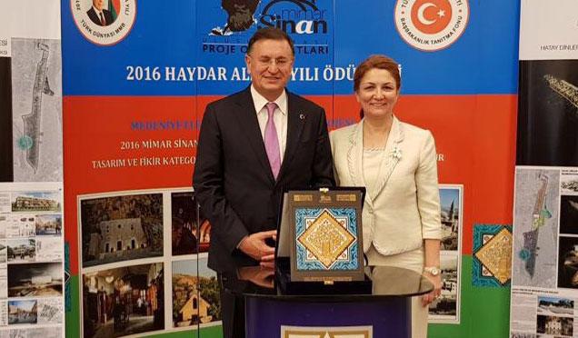Mimar sinan proje olimpiyatları'ndan Hatay'a ödül