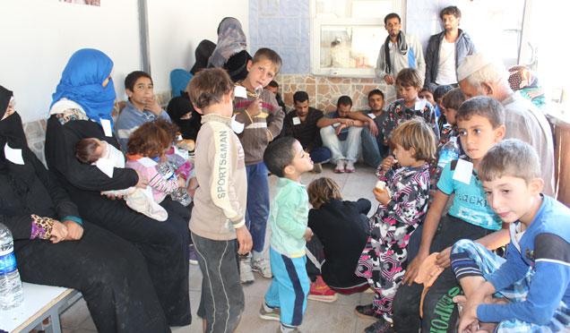 TSK; Suriye'den Türkiye'ye geçmek isteyen 243 kişi yakalandı