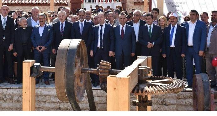 Hatay'da Zeytin Müzesi açıldı