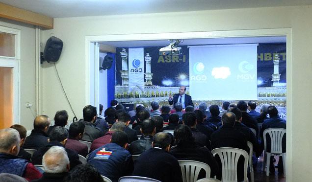 """AGD Hatay şubesi Asr-ı saadet sohbetleri """"İslamda aile"""""""