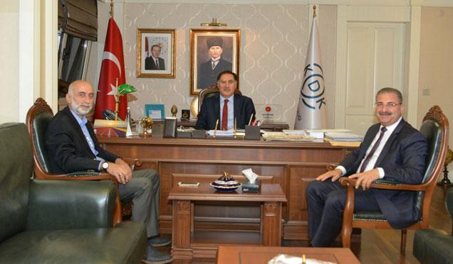 Antakya belediye başkanı Kimyeci'den Ankara'da ziyaret