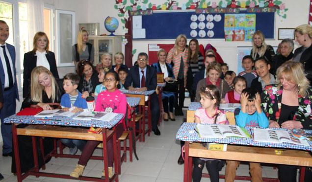 Eğitime ve çocuklara, destek olmaya devam