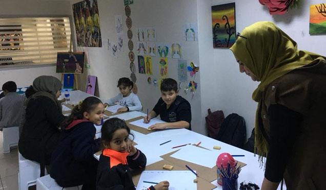 Antakya belediyesi görsel sanatlar kursu