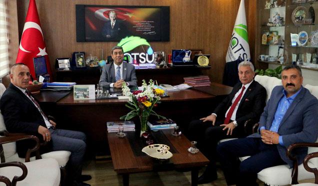 Türk yerel hizmet-sen, HATSU genel müdürlüğünü ziyaret etti