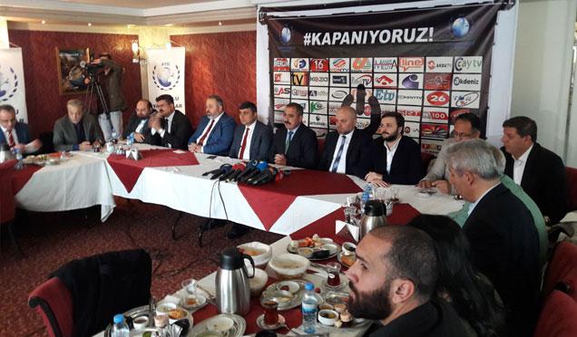 """AYD başkanı Sinan Burhan açıklama yaptı """"Kapanıyoruz"""""""