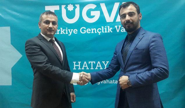 Türkiye Gençlik Vakfı Kırıkhan ilçe temsilciliğine Ahmet Kaya atandı