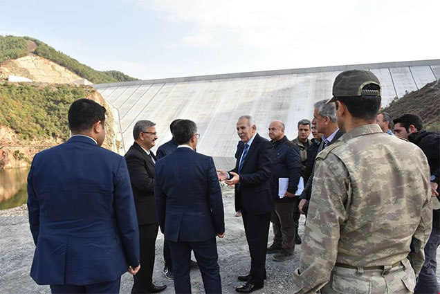 Büyük Karaçay Barajı yıllık 17,45 Milyon kWh elektrik üretecek