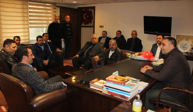 AK Parti Hatay il Başkanlığı MHP il Başkanlığı'nı ziyaret etti