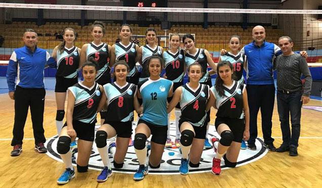 Antakya Belediyesi Bayan Voleybol Takımı ligdeki başarısına devam ediyor