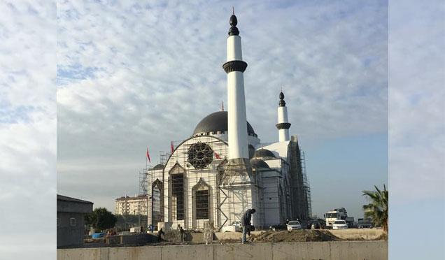 Sahil Camii kısa süre sonra ibadete açılacak