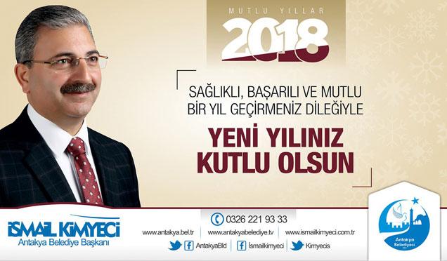 Başkan Kimyeci'den yeni yıl kutlama mesajı