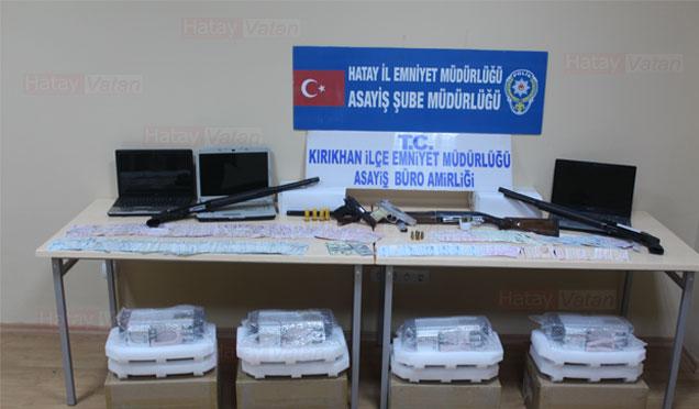 Hatay'da yasadışı bahis operasyonu; 74 kişi gözaltına alındı