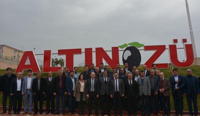 Altınözü'nde 2017 değerlendirme toplantısı düzenlendi