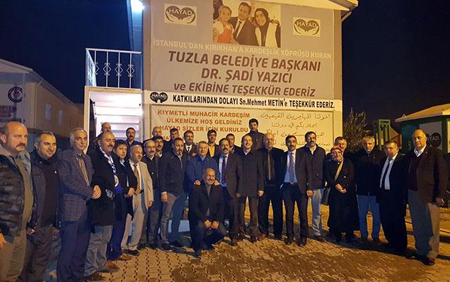 Erzurumlu muhtarlar Hatay'da