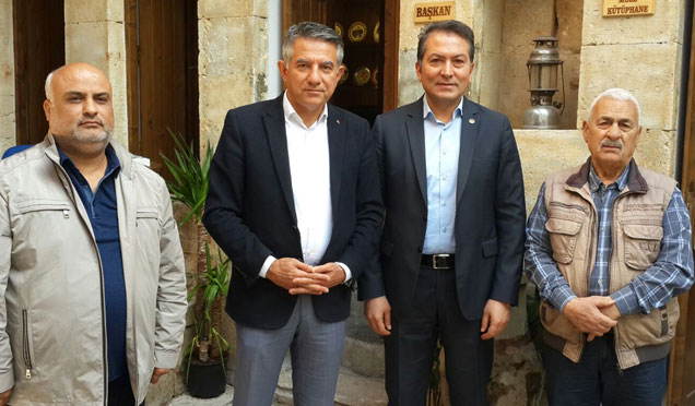 CHP Hatay Milletvekili Birol Ertem'den Ahmet Yetişen'e ziyaret