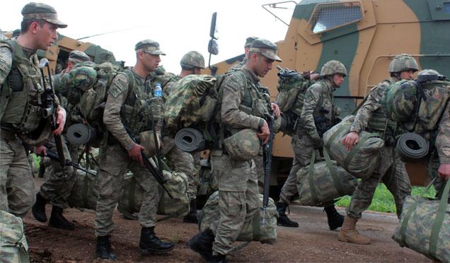 Sınır birliklerine komando sevkıyatı devam ediyor