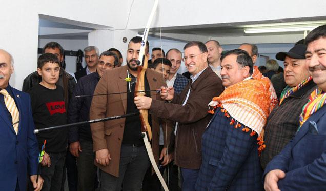 Zeus Okçuluk Eğitim Merkezi açılışı gerçekleştirildi