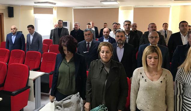 Afrin Şehitlerine Saygı duruşu