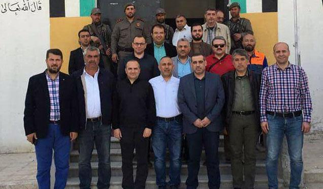 Vali Yardımcıları, Sınır İlçe Kaymakamları ve Belediye Başkanları Suriye'de