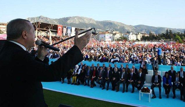 """Cumhurbaşkanı Erdoğan """"Hatay Gazi bir şehir"""""""