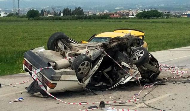 1 Haftada 79 kazanın meydana geldiği Hatay'da 45 kişi yaralandı