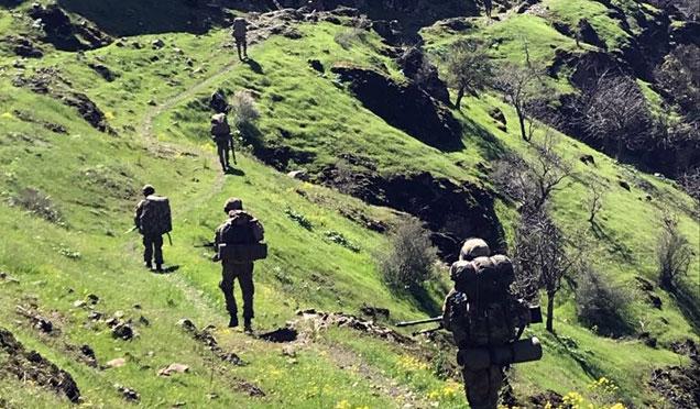 Amanoslarda Yıldırım-5 terör operasyonu başladı