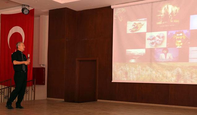 Hatay'da su sümbülü konferansı