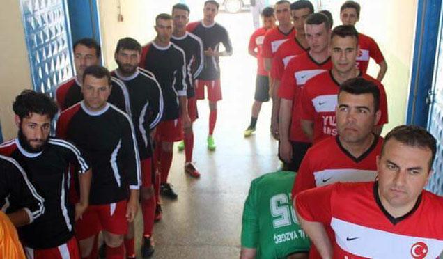 """Hassa'da """"Zeytindalı Futbol Turnuvası"""" düzenlendi"""