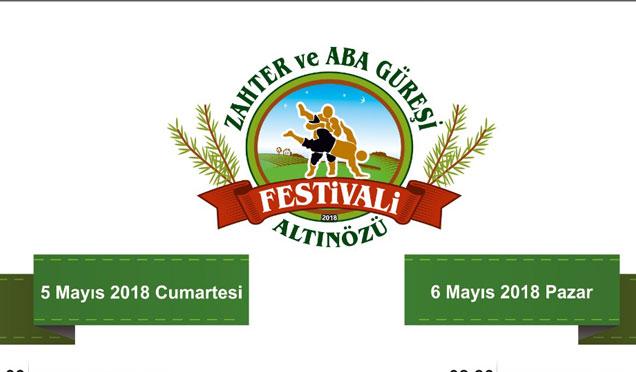 """Altınözü'nde, """"Altınözü Zahter ve 2.Geleneksel Aba Güreşi Festivali"""" yapılacak"""