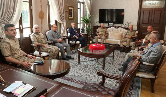 Jandarma Genel Komutan Yardımcısı Tümgeneral Musa Çitil Hatay'da