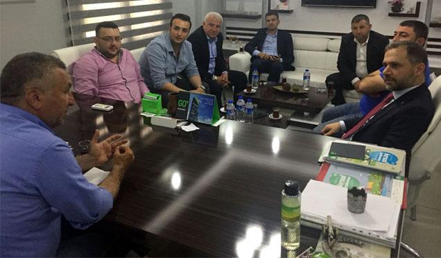 Ak Parti Genel Sekreter Yardımcısı Özel'den Medya Grubumuza ziyaret