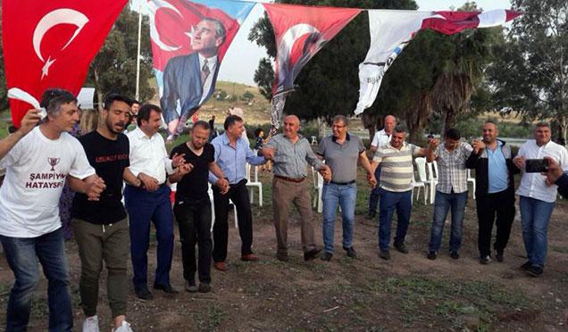 Hatayspor'un şampiyonluk kutlamaları devam ediyor