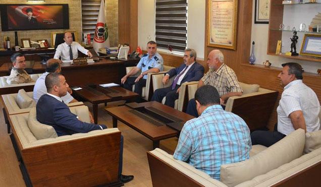 Altınözü'nde seçim güvenlik toplantısı