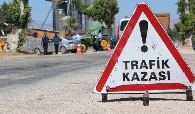 Hatay'da Trafik denetimleri; 108 kaza, 129 yaralı