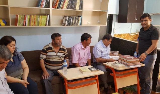Şehit Bestami Güler adına kütüphane açıldı