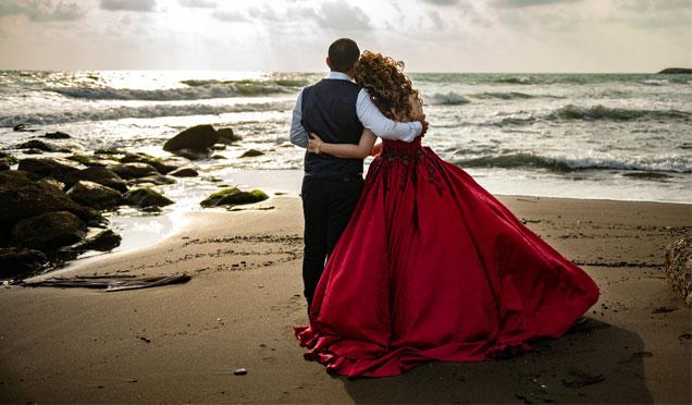 Evlenen çiftlerin gözde mekanı tarihi mekanlar ve sahil oldu