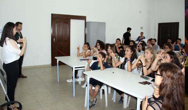 Gençlerden İşaret Dili eğitimine yoğun ilgi