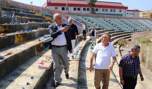 İskenderun'a yeni stadyum girişimi