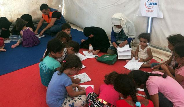 Suriyeli çocuklar Sosyalleşme desteği