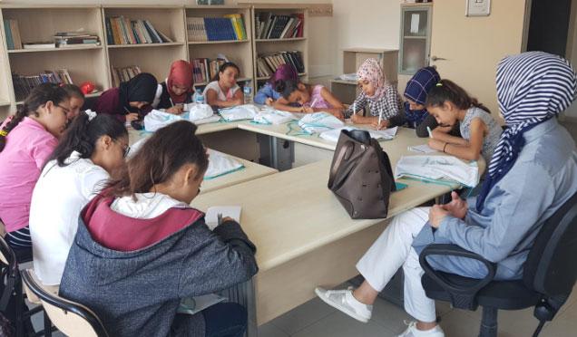 TÜGVA Antakya ortaokul yaz okulu başladı