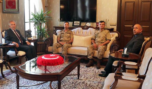 Jandarma Adana Bölge Komutanı Hatay'da